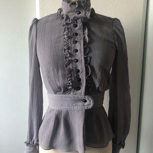 Alice Temperly Lilac Ruffled Jacket